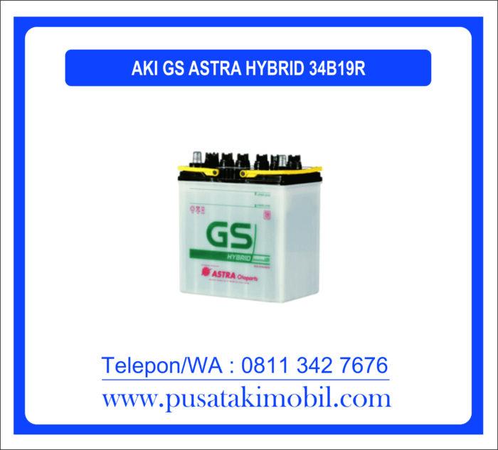 AKI GS ASTRA HYBRID 34B19R