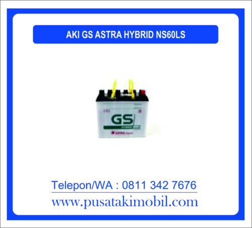 AKI GS ASTRA HYBRID NS60LS