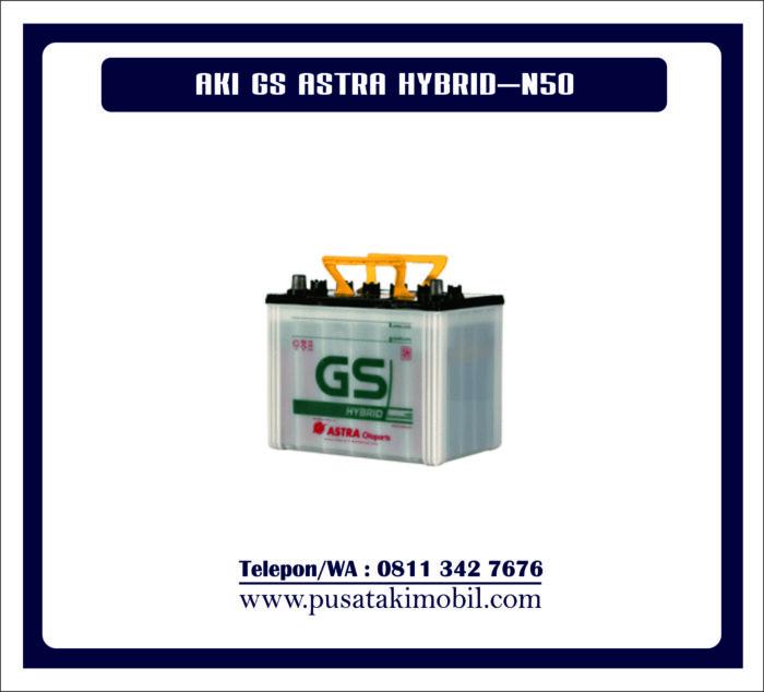 AKI GS ASTRA HYBRID N50