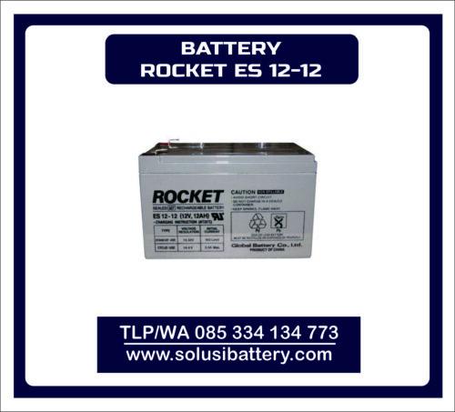 BATTERY UPS ROCKET ES12-12 | BATTERY ROCKET 12V12AH