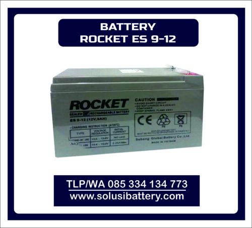 BATTERY VRLA ROCKET ES9 – 12 | BATTERY UPS ROCKET 12V9AH