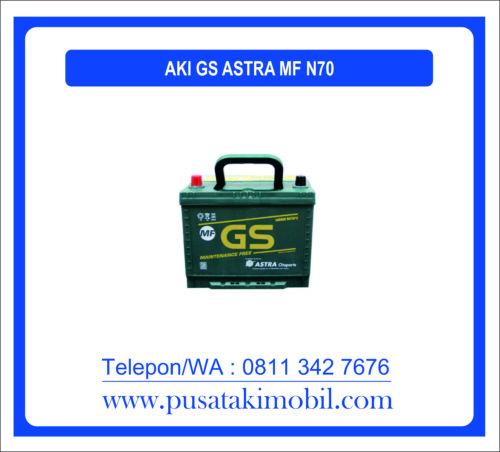 AKI GS ASTRA MF N70 | AKI UNTUK MITSUBISHI KUDA
