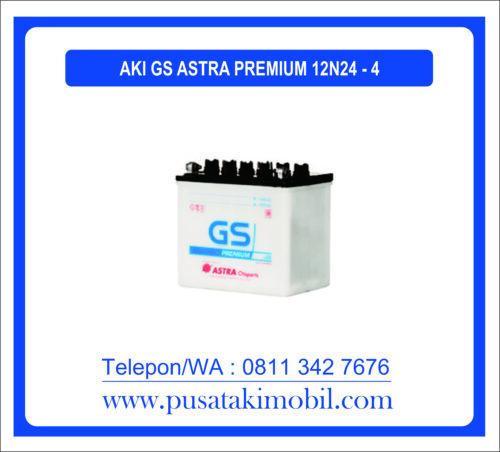 AKI GS PREMIUM TIPE 12N24-4
