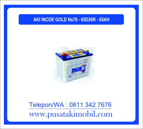 AKI INCOE GOLD NS70 / 65D26R (65 AH)