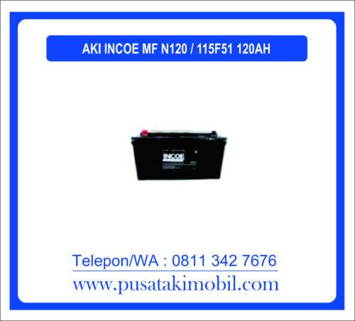 AKI INCOE MF N120 / 115F51 (120 AH)