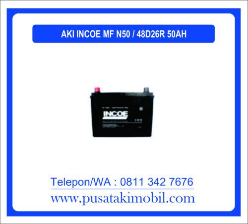 AKI INCOE MF N50 / 48D26R (50 AH)