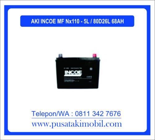 AKI INCOE MF NX110-5L / 80D26L (68 AH)