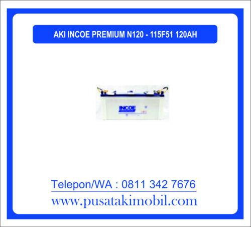 AKI INCOE PREMIUM N120 / 115F51 (120 AH)