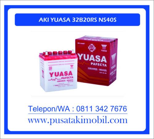 AKI MOBIL YUASA 32B20R(S) / NS-40(S)   AKI YUASA BASAH 32AH