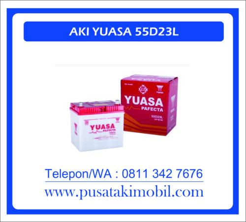 AI YUASA 55D23L   MOBIL TOYOTA KIJANG INNOVA BENSIN G/V VENTURER YUASA 55D23L