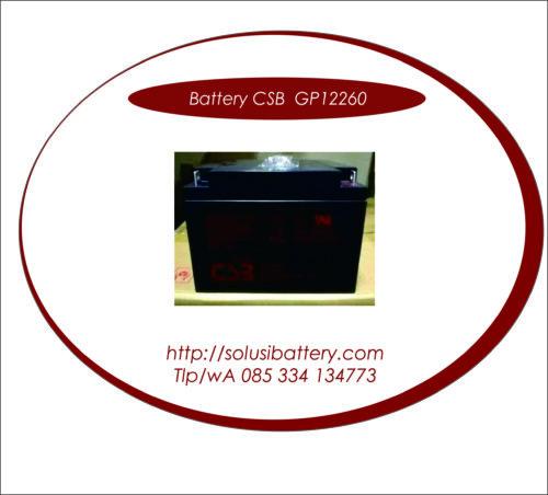 BATTERY UPS CSB GP12260 | BATTERY VRLA AGM CSB 12V 26 AH