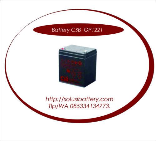 BATTERY UPS CSB HR1221 W | BATTERY VRLA AGM CSB 12V 5AH